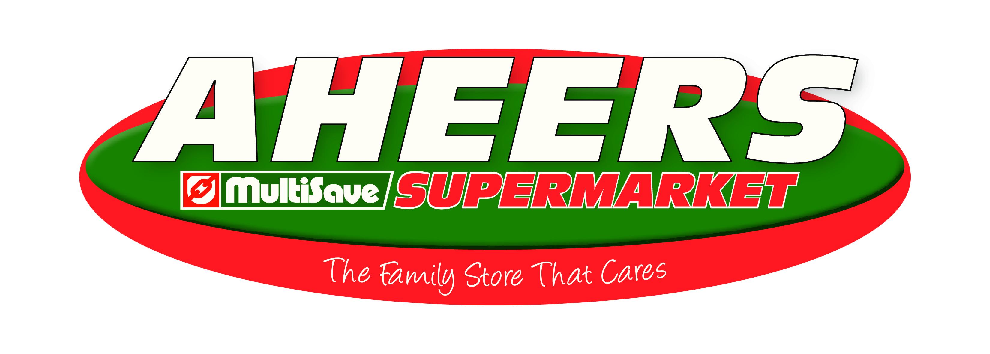 Aheers Supermarket Multisave Logo