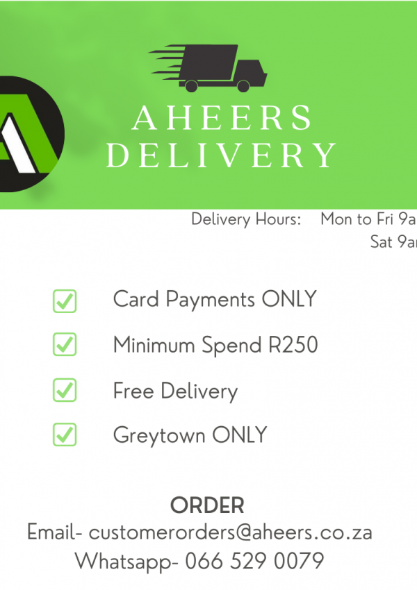 Aheers Delivery